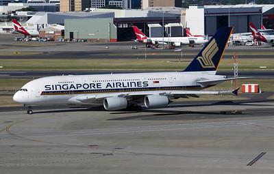 9V-SKE SINGAPORE AIRLINES A380