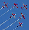 "The RAAF ""Roulettes"" PC-9s impressed the PM at Temora."