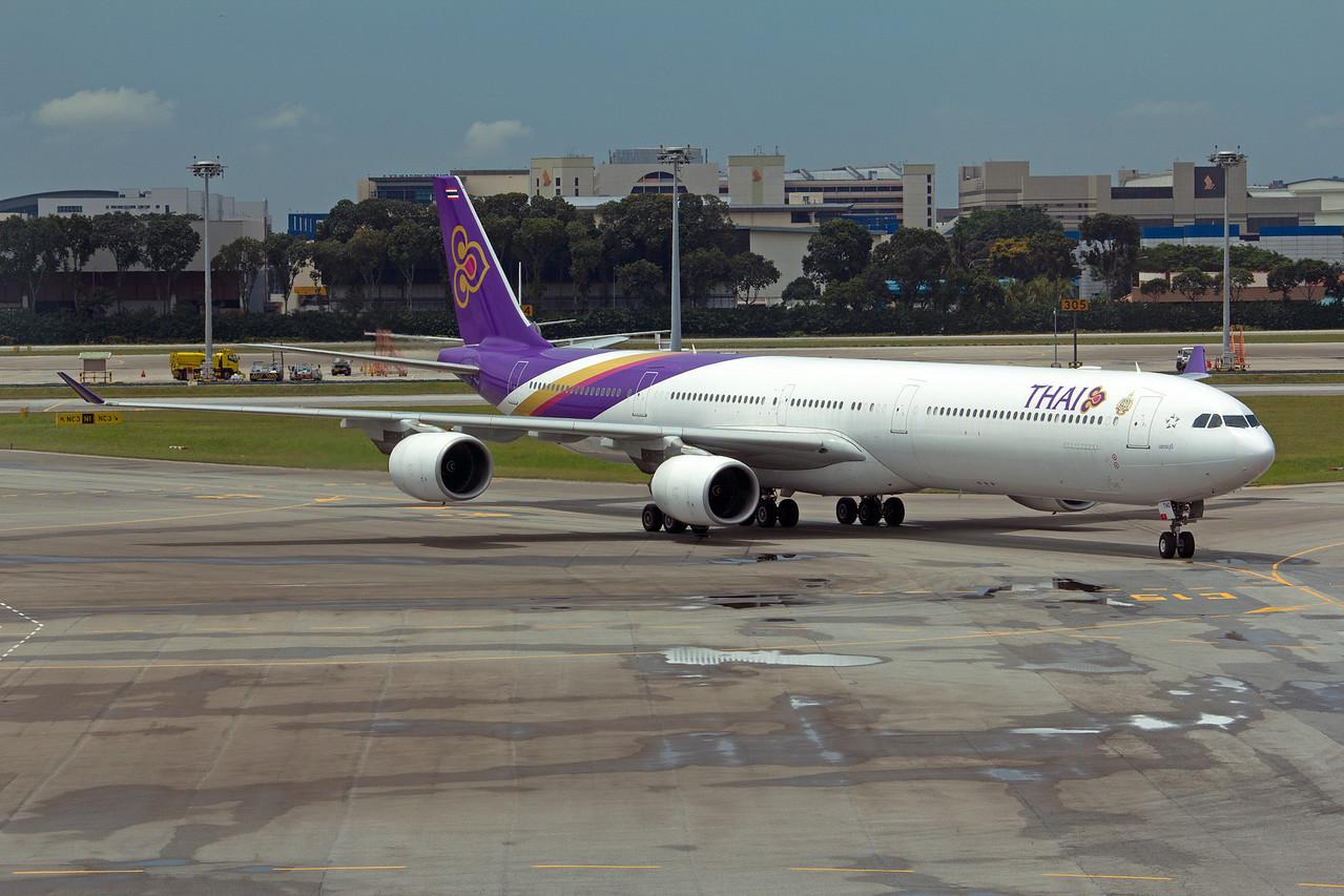HS-TND THAI A340-600