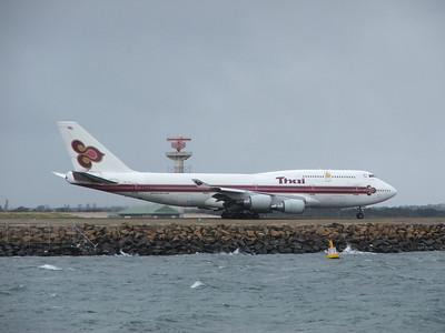 HS-TGY THAI INTERNATIONAL B747-400