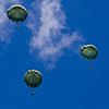 WWII Style Parachutes