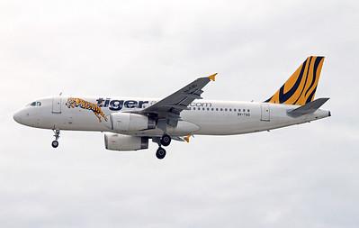9V-TAS TIGER AIRWAYS A320