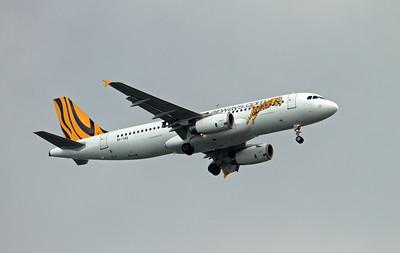 9V-TAQ TIGER AIRWAYS A320