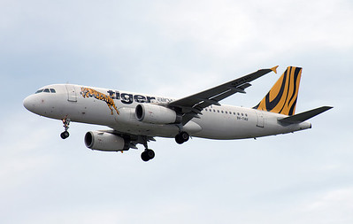 9V-TAU TIGER AIRWAYS A320