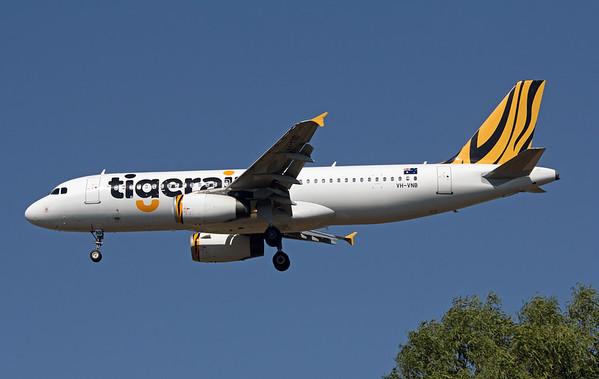 VH-VNB TIGERAIR A320
