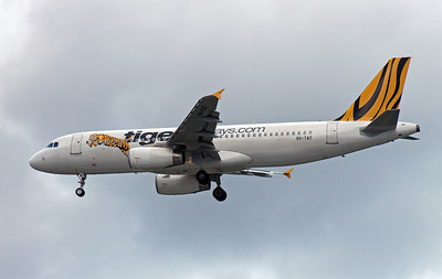 9V-TAT TIGER AIRWAYS A320