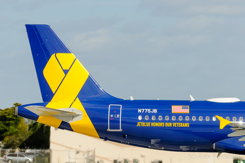 """""""Vets in Blue""""<br /> Airbus A320"""