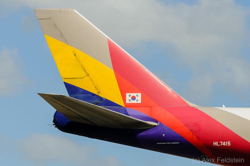 Asiana Boeing 747