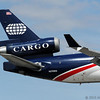 World Airways MD11F Cargo landing in Miami.
