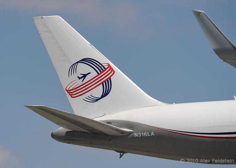 Florida West cargo B767 landing in Miami