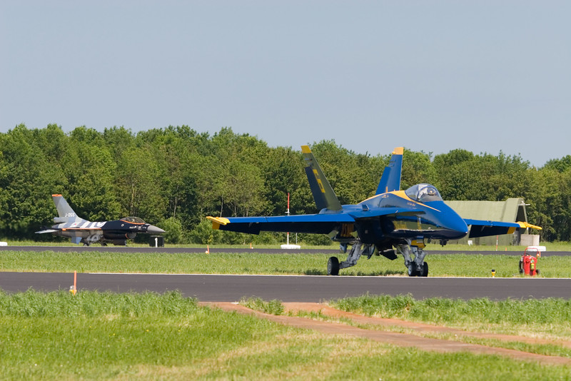 Blue Angels. F/A-18 Hornet. US Navy.