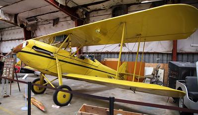 1920 Waco 10 3-seat sport biplane