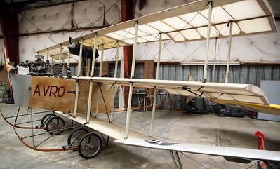 """1910 """"Roe IV"""" Avro triplane"""