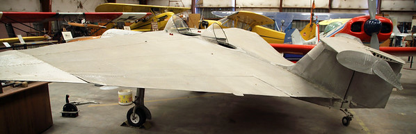 Ellis Eichman's 1940  homemade experimental flying wing.  Brownsville, TX