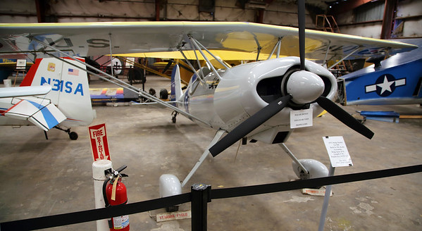 A Visit to the Texas Air Museum, San Antonio, March 27, 2015