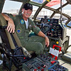 CAF Pilot Mike Vance at the controls of 'Fifi'. 07-02-2011