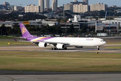 Thai Airbus A340-642 HS-TNF