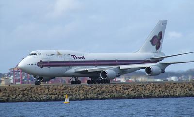 Thai Airways International Boeing 747-400 HS-TGY