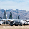 C-130s at the Boneyard in Tucson