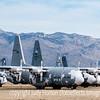 C-130s at the Boneyard in Tucson