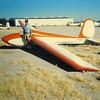Estrella Sailport, AZ.  Bill Sr. in front of Bill Jr's Schweitzer 1963 1-26B, S/N 221 - N2752R.