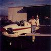 March 1983 - Bill Jr. with Mooney Mite he flew out of Longmont Municipal Airport.