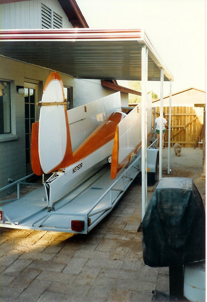 Prescott Sailport.  This is where I kept my 1963 Schweitzer 1-26B on the trailer at our house in Chander, AZ.