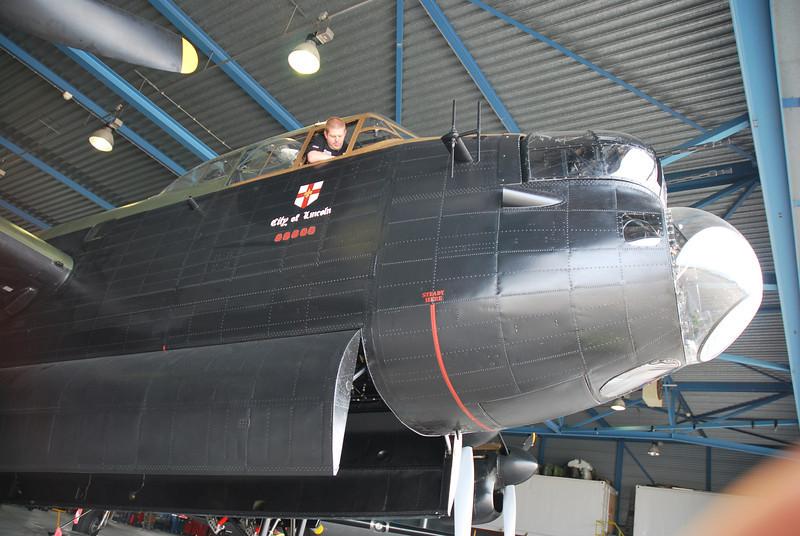 cockpit high up