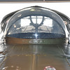 Navigation dome just aft of the cockpit.