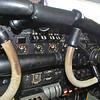 Primary engine instruments cockpit