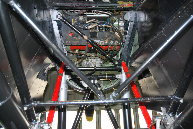 Hydraulic oil tank and additional hydraulic systems.