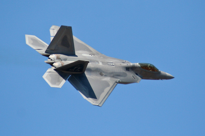 F-22 Raptor Stealth Fighter.