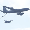 KC-135 Stratotanker and F-16