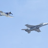 F/A-18 Super Hornet and F4U Corsair