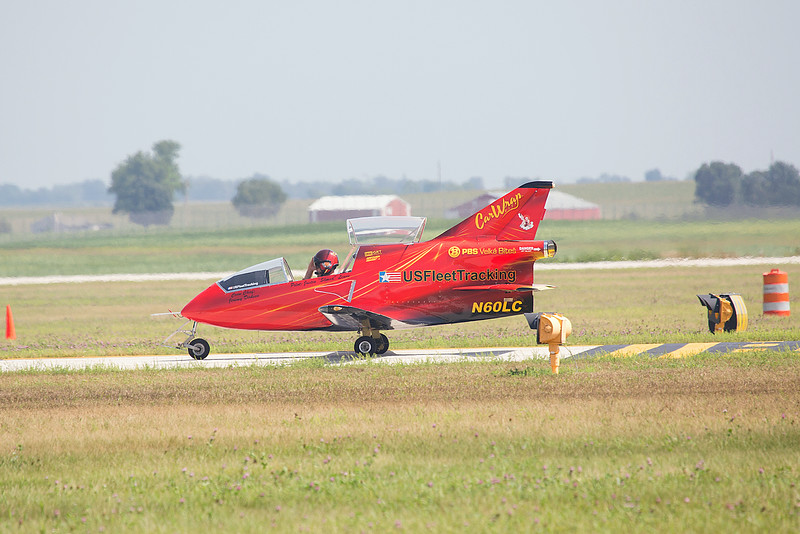 Justin Lewis in the FLS MicroJet at Thunder in the Valley II