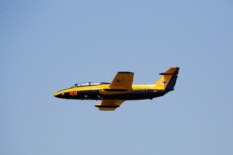 University of Iowa Hawkeye Jet Demo Team in the L-29 Jets at Thunder in the Valley II