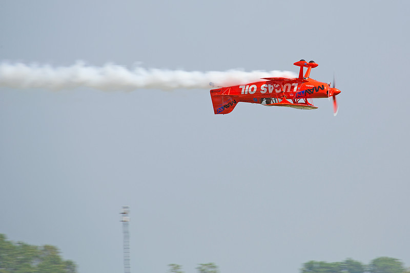 Mike Wiskus in the Lucas Oil Pitts Special at Thunder in the Valley II