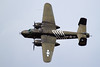 B-25h Mitchelle, the H model has a 75mm canon mounted in the nose. Tico Warbirds Air Show