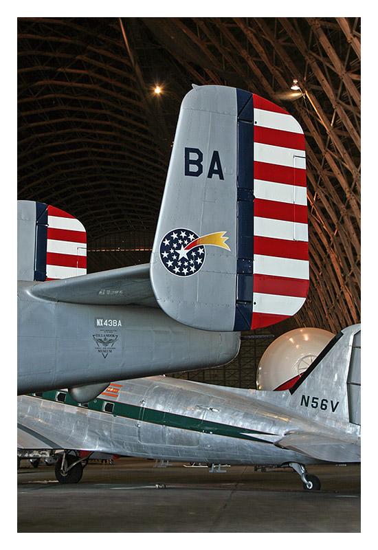 North American B-25J Mitchell NX43BA s/n 44-30456