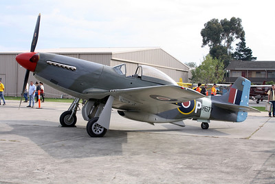 COMMONWEALTH AIRCRAFT CORP CA-18 MK 21 MUSTANG VH-JUC