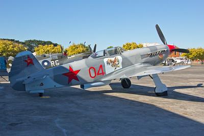 VH-YIX Ganot Pty Ltd Yakovlev YAK-9UM