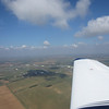 Downwind for Kemble runway 08 RH