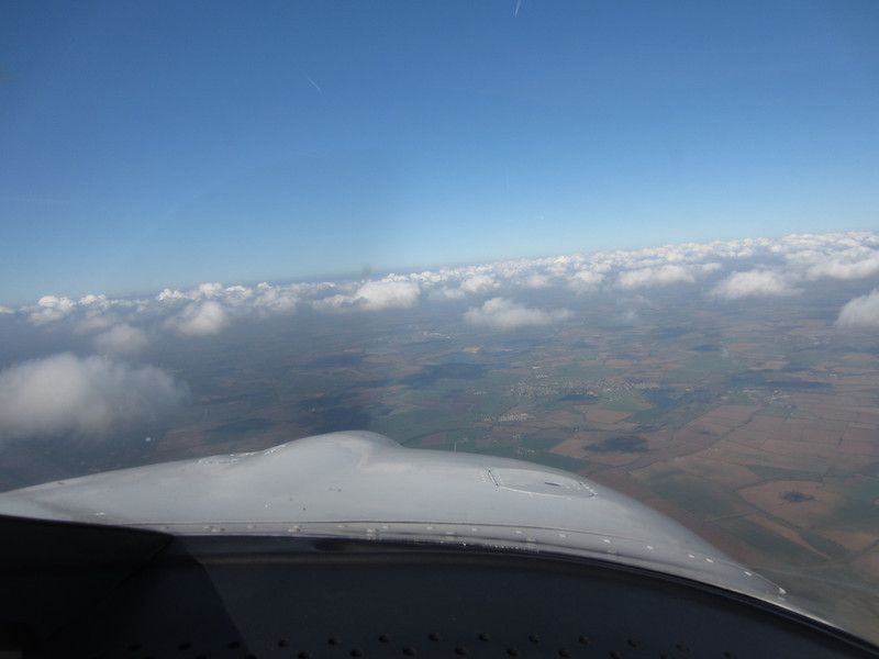 G-BOLT inbound to Kemble from Elstree
