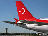 Turkish government Airbus A319 at Republic Airport