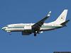 Nigerian Air Force BBJ arriving at JFK during UN Week.