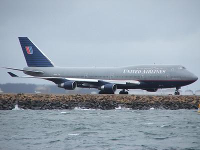 N120UA UNITED AIRLINES B747-400