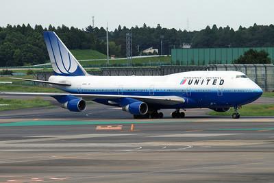 N117UA UNITED B747-400