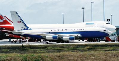 USAF B707 (C-135B)  24127  89TH MAW