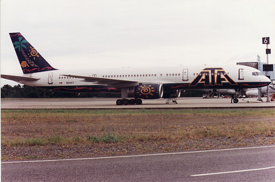 N514AT AMERICAN TRANS AIR B757