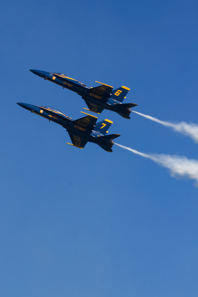 Blue Angels at 2012 Sea and Sky Spectacular in Jacksonville Beach, Florida